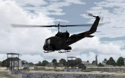 FSX: Bell UH-1 Huey (Milviz)   YoYoSims