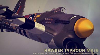 Hawker Typhoon Mk 1b dla FSX oraz P3D | YoYoSims