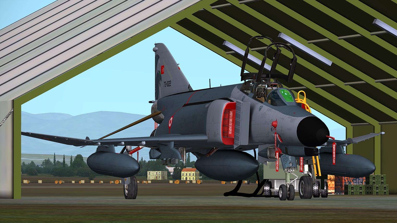 FSX/P3D] Milviz: F-4E Phantom II - Ariel Creation - Flight Simulator